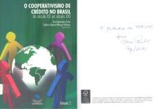 O cooperativismo de crédito no Brasil: do século XX ao século XXI, volume 2