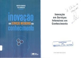 Inovação em serviços intensivos em conhecimento