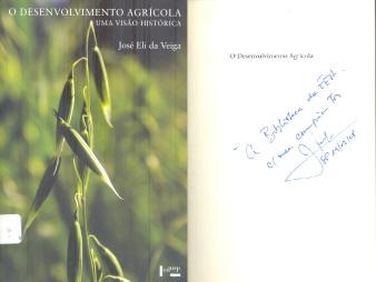O desenvolvimento agrícola