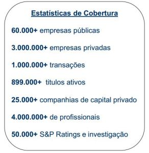 Estatísticas Capital IQ