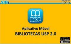 Aplicativo móvel Bibliotecas USP