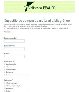 Sugestão de compra de material bibliográfico_of
