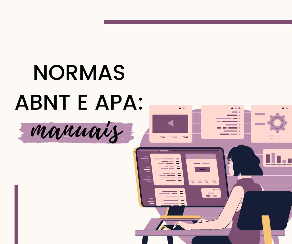 NORMAS ABNT E APA_ MANUAIS