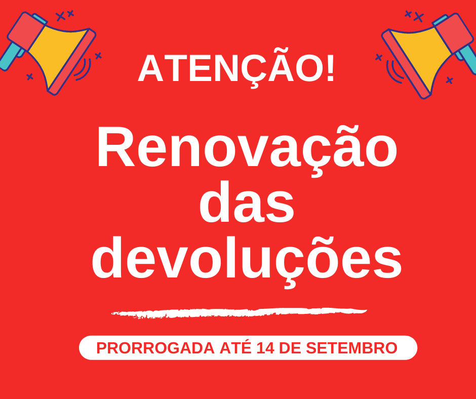 RENOVAÇÃO DE DEVOLUÇÕES